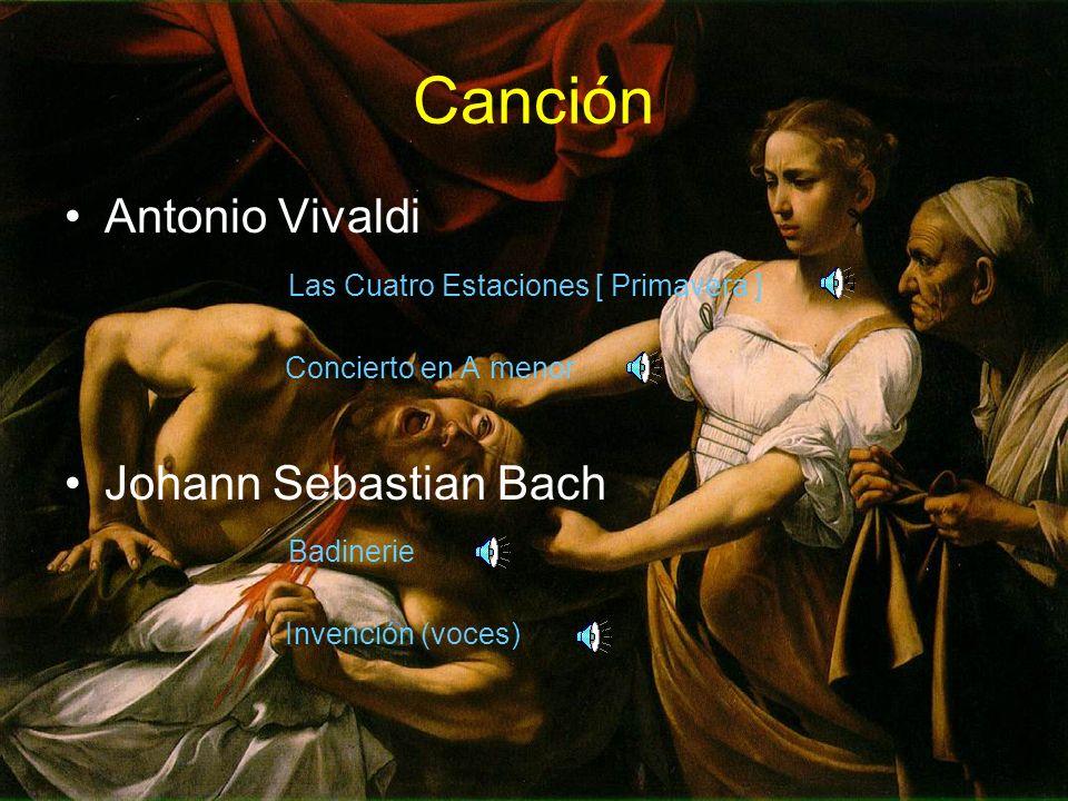 Canción Antonio Vivaldi Las Cuatro Estaciones [ Primavera ]